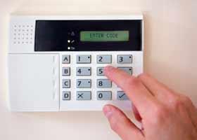 Imagem de alarme residencial