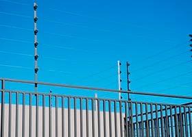 imagem de cerca elétrica instalada